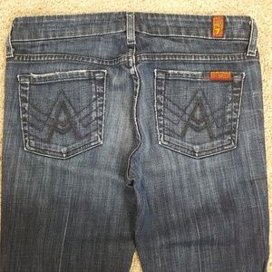 7 For All Mankind Jeans A Pocket Size 25 A4-2